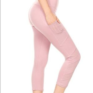 Pants - Mesh active capri's